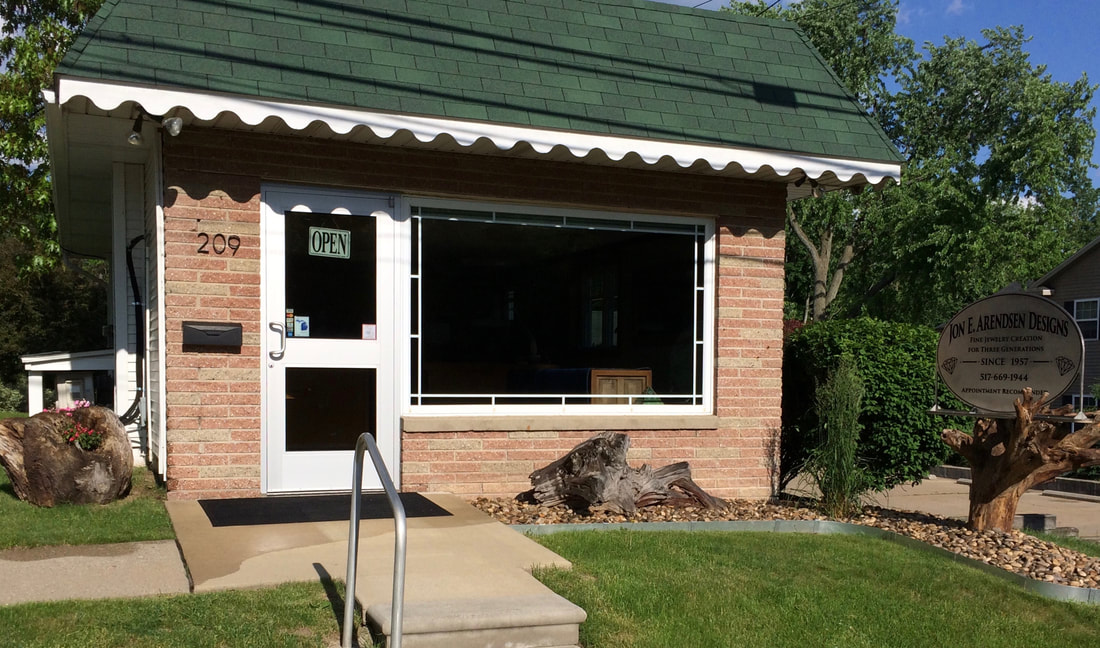 Our Design Studio Storefront in DeWitt, MI